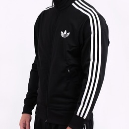 White Adidas Tracksuit Top