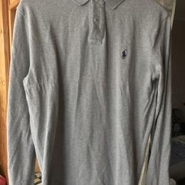 0c6735bc POLO RALPH LAUREN Slim-Fit Cotton-Piqué Polo Shirt (L)