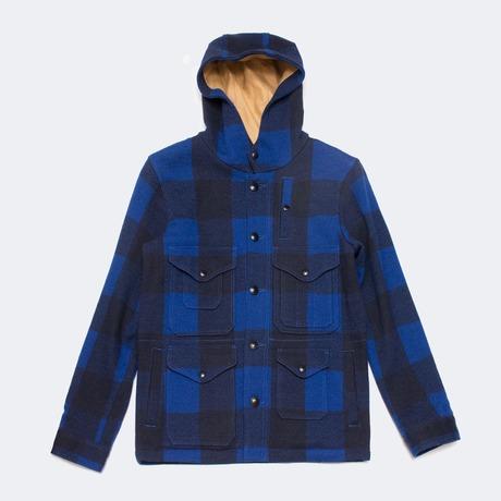 Beams Plus Mackinaw wool hooded coat» — Клуб FURFUR