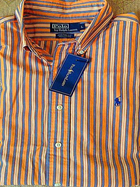 Рубашка Ralph Lauren Polo, рубашка надевалась 1-2 раза, продаю, потому что  при покупке не угадали с размером, рубашка L, за 2500. 883d5efb42f