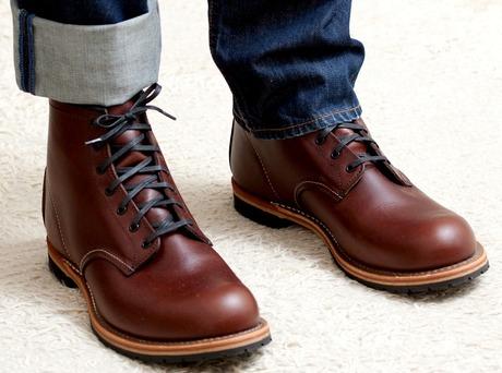 2ee7ec7fb Новые Американские ботинки Red wing shoes ( винги ред винг вингс ) ,  сделанные вручную в Америке из прекрасной кожи благородного натурального  коричневого ...