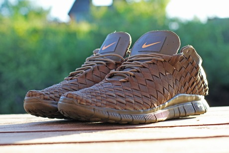 on sale 14bbb 1929d Nike Free Inneva woven tech SP. Dark Loden