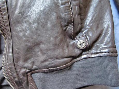 Chevignon куртка кожаная мужская