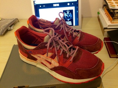free shipping be7a9 91870 Asics Gel-Lyte V x Ronnie Fieg