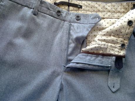 Фланелевые брюки