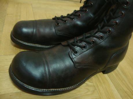 d7b710c9b Американские кожаные ботинки 47 размер 1957г. Made in Usa в Москве ...