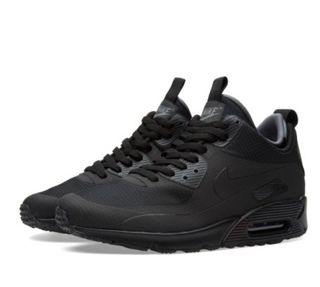 Зимние кеды Nike Air Max 90 Mid Winter (Black)» — Клуб FURFUR c599256690554