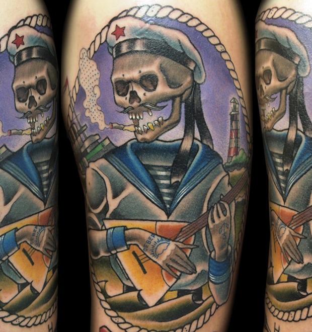 Русский народный олдскул: Традиционные татуировки на российский манер