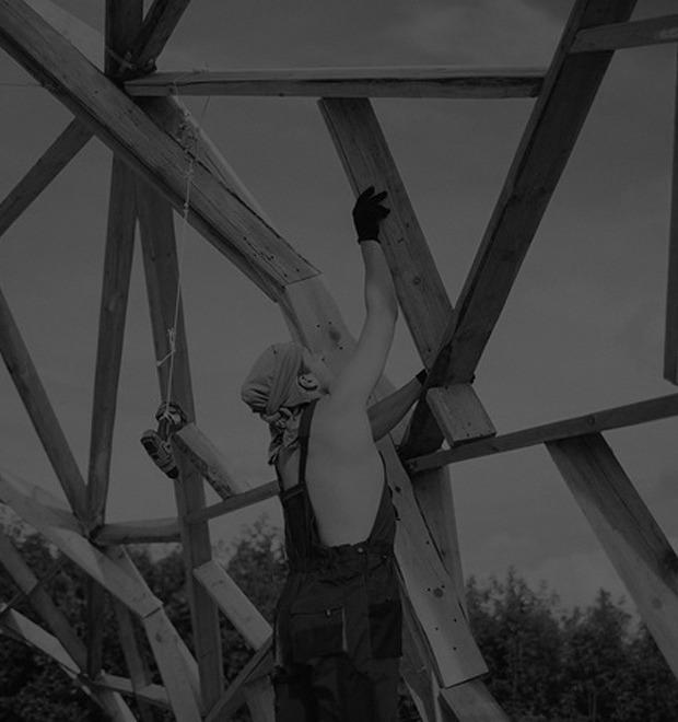 Фоторепортаж: Строительство объектов фестиваля Outline — Культура на FURFUR