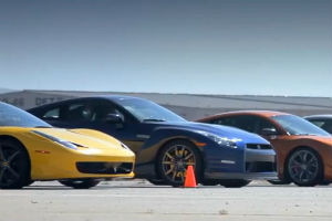 Видео гонки по дрэг-рейсингу журнала Motor Trend — Культура на FURFUR