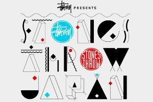 Совместная коллекция футболок марки Stussy и лейбла Stones Throw