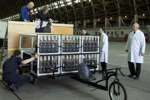 Американские исследователи построили машину, работающую на «Ментосе» и «Кока-Коле»