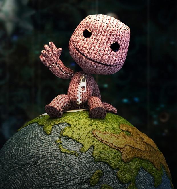Потрачено: Прохождение Little Big Planet в формате прямой трансляции