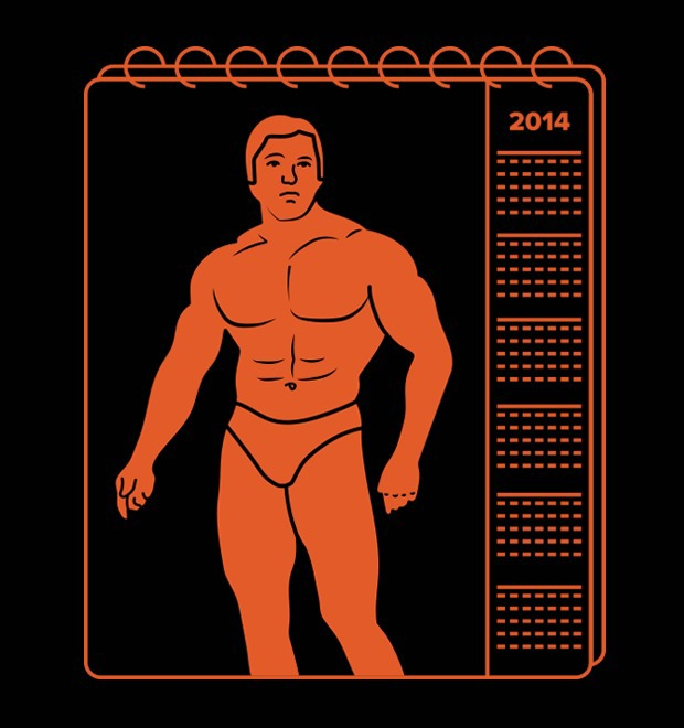 Приобретай мускулатуру: Календари FURFUR с советскими культуристами — Культура на FURFUR
