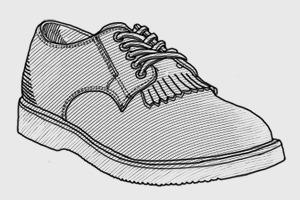 Внимание к деталям: Зачем нужна кожаная вставка под шнурки — килти