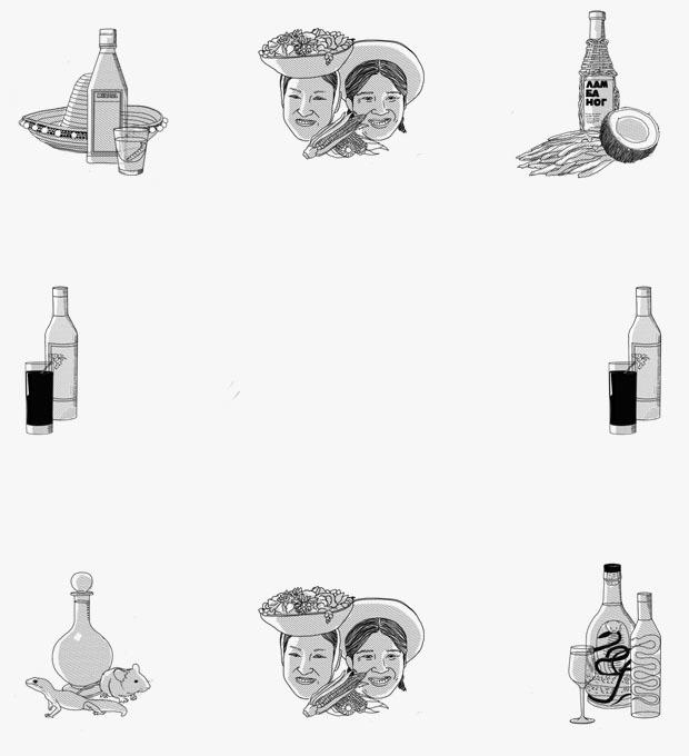 Палец, йогурт и мышонок: Из чего делают экзотические алкогольные напитки