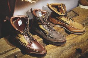 Совместная коллекция обуви марок Sebago, Filson и Woolrich