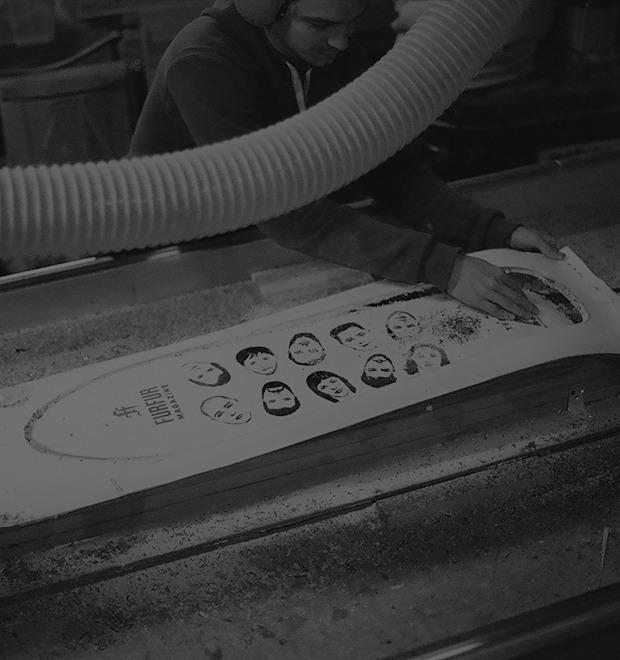 FURFUR х Pepper Customs: Как выглядит процесс создания лонгборда