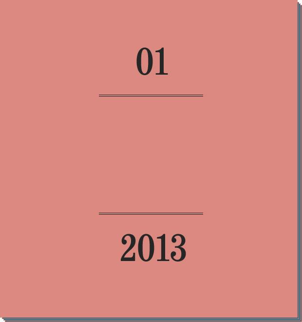 Календарь FURFUR на 2013 год: Январь