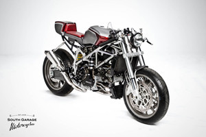 Каферейсер Ducati 749 мастерской South Garage — Культура на FURFUR