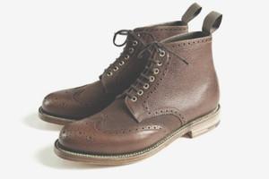 Совместная коллекция обуви марок Grenson и Barbour — Культура на FURFUR