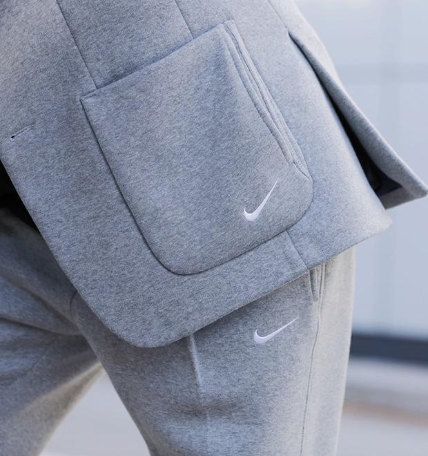 Флисовые брюки Nike превратили в деловой костюм — Культура на FURFUR