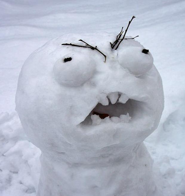 Что ты лепишь: Альтернативные снеговики со всего мира