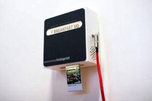 Студия Breakfast разработала мини-принтер для приложения Instagram — Культура на FURFUR
