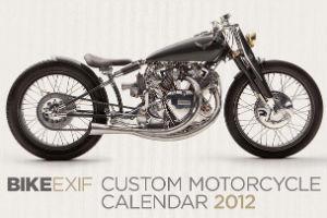 Календарь с кастомизированными мотоциклами сайта Bike EXIF