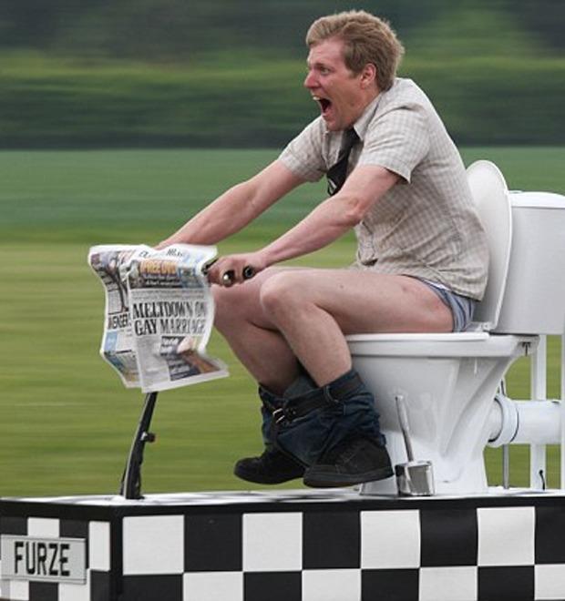 Colin Furze: 10 невероятных изобретений безумного британца