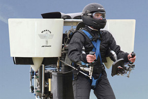 Новозеландский инженер спроектировал летающий рюкзак — Культура на FURFUR