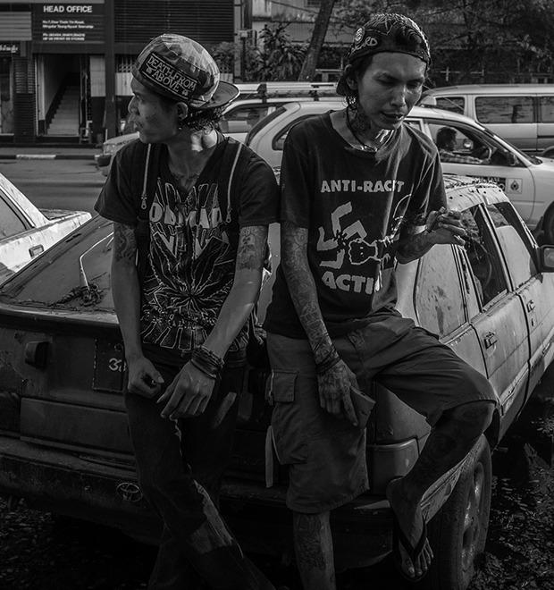 Панк в условиях военной диктатуры: Фотопроект Грега Холланда