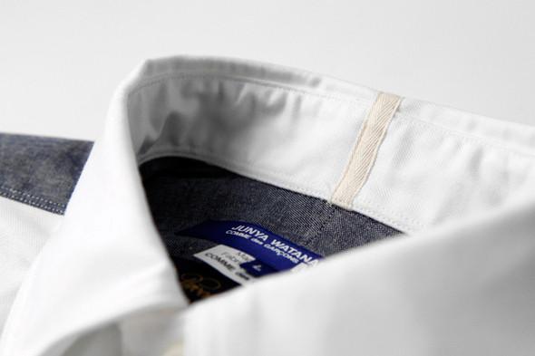 Дизайнер Джуниа Ватанабe создал рубашку вместе с Brooks Brothers