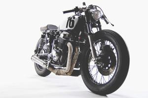 Новый каферейсер Honda CB750 мастерской Motohangar — Культура на FURFUR