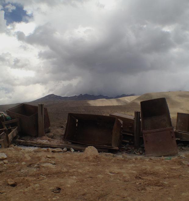Гора, которая ест людей: Как я провёл день в шахте серебряного рудника