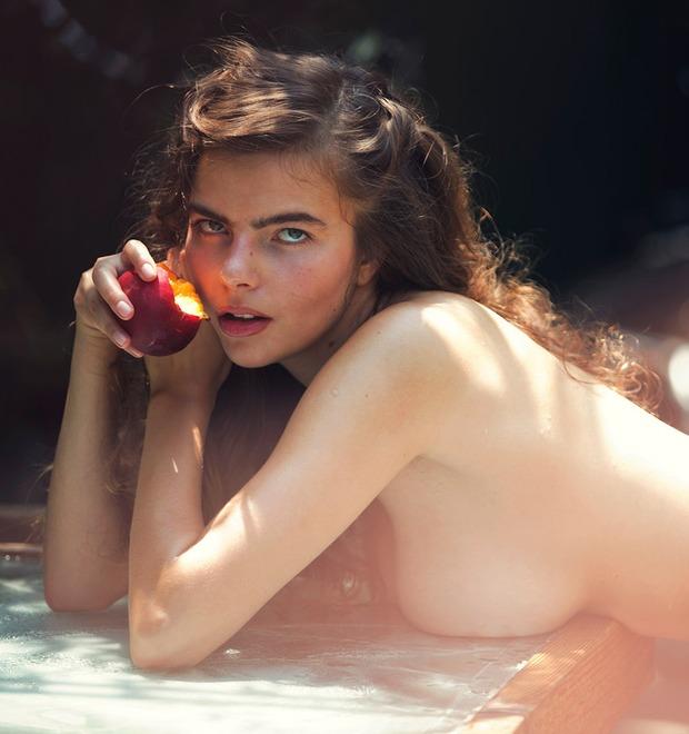 Дэвид Бельмере сфотографировал русскую модель Алину Алилуйкину для нового номера журнала Treats! — Культура на FURFUR