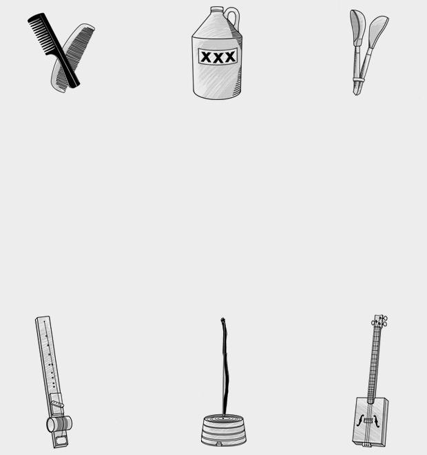 Диддли-бо, жбан и еще 4 музыкальных инструмента из подручных средств