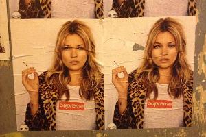 Кейт Мосс снялась в рекламной кампании Supreme — Культура на FURFUR
