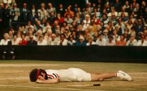 Пародия на легендарных теннисистов в журнале New York Times