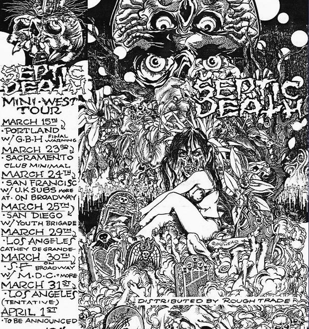 Афиши американских хардкор-концертов первой волны — Культура на FURFUR