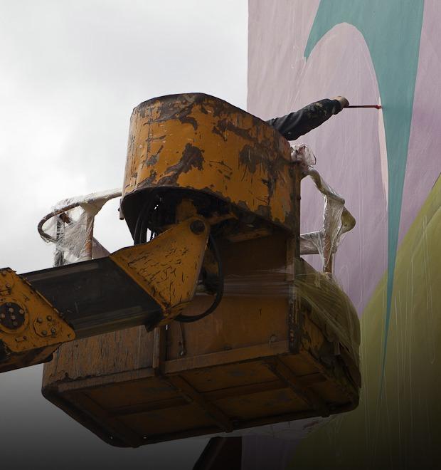 Как стрит-арт взаимодействует с государством: Отвечают кураторы выставок и уличные художники — Культура на FURFUR