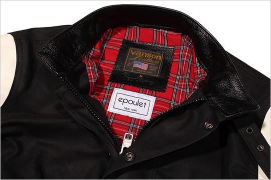Компания Vanson создала гибрид университетской и мотоциклетной курток — Культура на FURFUR