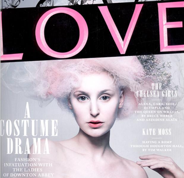 Журнал Love повторил наш эксперимент с закапыванием одежды
