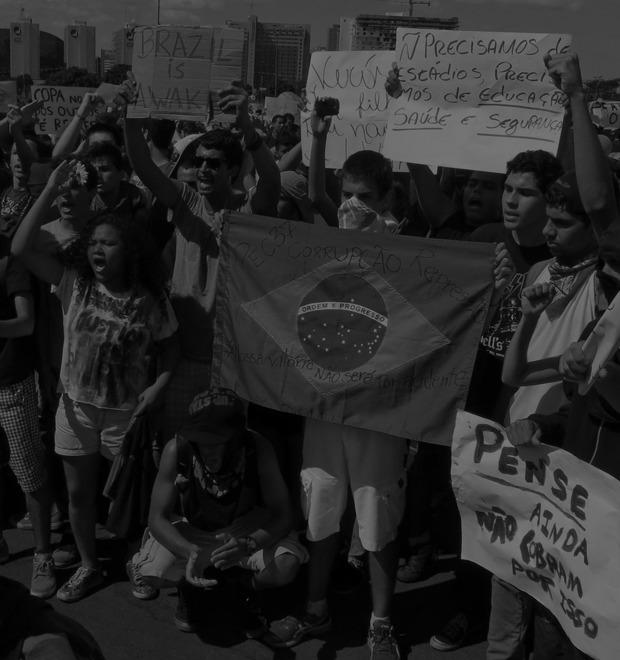 Низы не хотят: Что не так с чемпионатом мира по футболу в Бразилии — Культура на FURFUR