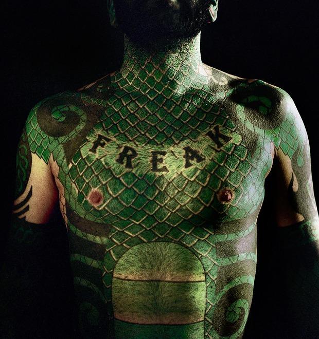 Место занято: Как менялось отношение к сильно татуированным людям — Культура на FURFUR