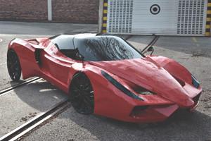 В Австрии сделали самый медленный в мире Ferrari