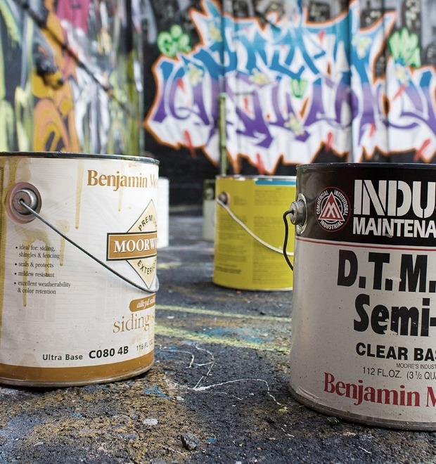 Гид по инструментарию граффити-художников