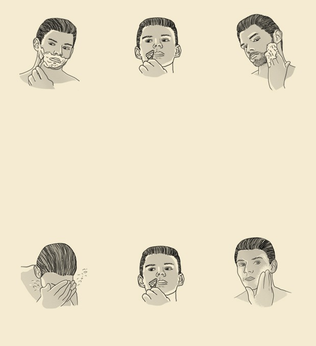 Совет: Как правильно бриться