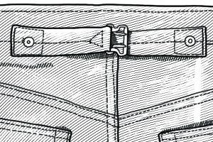 Внимание к деталям: Для чего нужен задний хлястик на джинсах — Культура на FURFUR