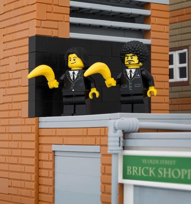 Bricksy: Работы Бэнкси из конструктора LEGO